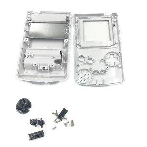 Image 5 - Oro Argento Per Nintendo GameBoy Color Cover di Ricambio Borsette Per GBC