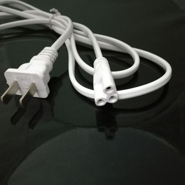 US Plug T5 T8 LED Tube Plug Power Cord 2 Core with Switch Extension ...