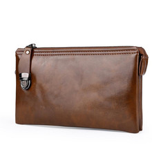 Men Wallet PU Leather Wallet Man Clutch Bag Male Casual Phon