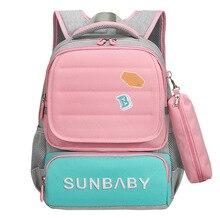 Детская школьная сумка ids школьный рюкзак для мальчиков и девочек ортопедический школьный рюкзак Детский рюкзак с принтом Рюкзак mochila escolar
