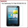 0.3 мм 9 H Жесткий Закаленное Стекло Для Samsung Galaxy Tab 2 P3100 7 7-дюймовый Планшетный Экран Протектор 2.5D Дуги Край Протектор чистые инструменты