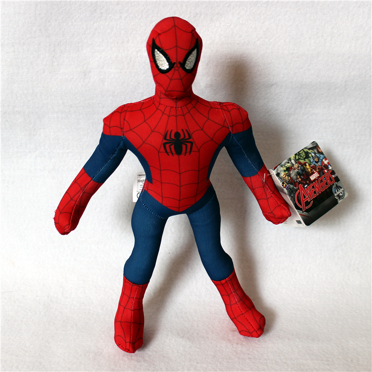 1 Piece 30cm The Avengers Spiderman Plush Toys Doll For Kids Gifts&Birthday