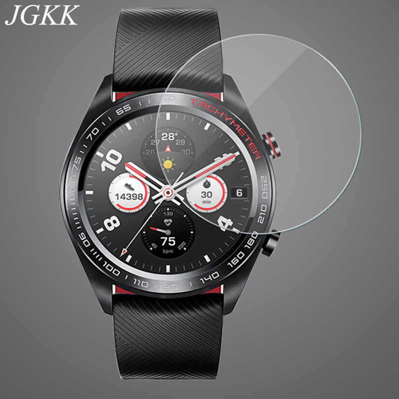 JGKK 2PCS Tempered Glass For Huawei Honor Watch Magic Watch S2 Screen Protector For Huawei Honor Watch S1 Honor Watch S2 Film