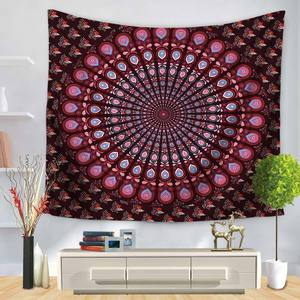 Image 5 - Indian Elephant Wall Hanging Tapestry Mandala Floral Carpet Chic Bohemia Decoration Kids Room Beach Towel Tribe Style Decor