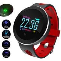 Heart Rate Monitor Smart Watch Men Sports Blood Pressure Pedometer Running OLED Touch Waterproof Fitness Intelligent Watch Women