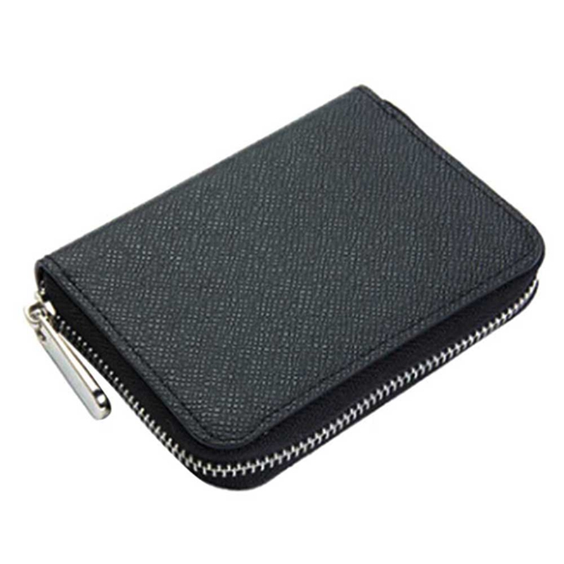 Small Short Leather Men Wallet Purse Male Clutch Bag For Coin Money Mini Purse