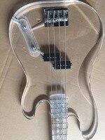 Electric Guitar/QuanAcrylic Crystal Electric Bass/Anmiyue China Electric Bass