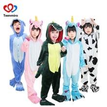1d6d8ea7267a Дети панда халаты Pokemon кошка собака пижамы для мальчиков и девочек халат  Детская фланелевая Толстовка пижамы