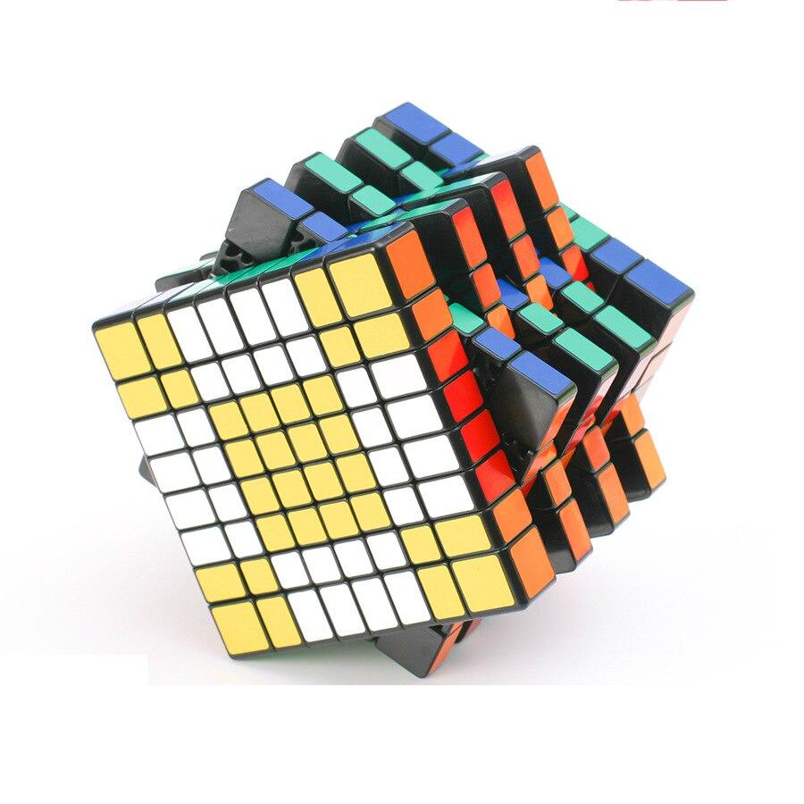 Haute qualité 8x8x8 Cubes magiques professionnel vitesse Puzzle Cube 8 couches d'apprentissage éducatif Cubes magiques jouet Cubo Magico