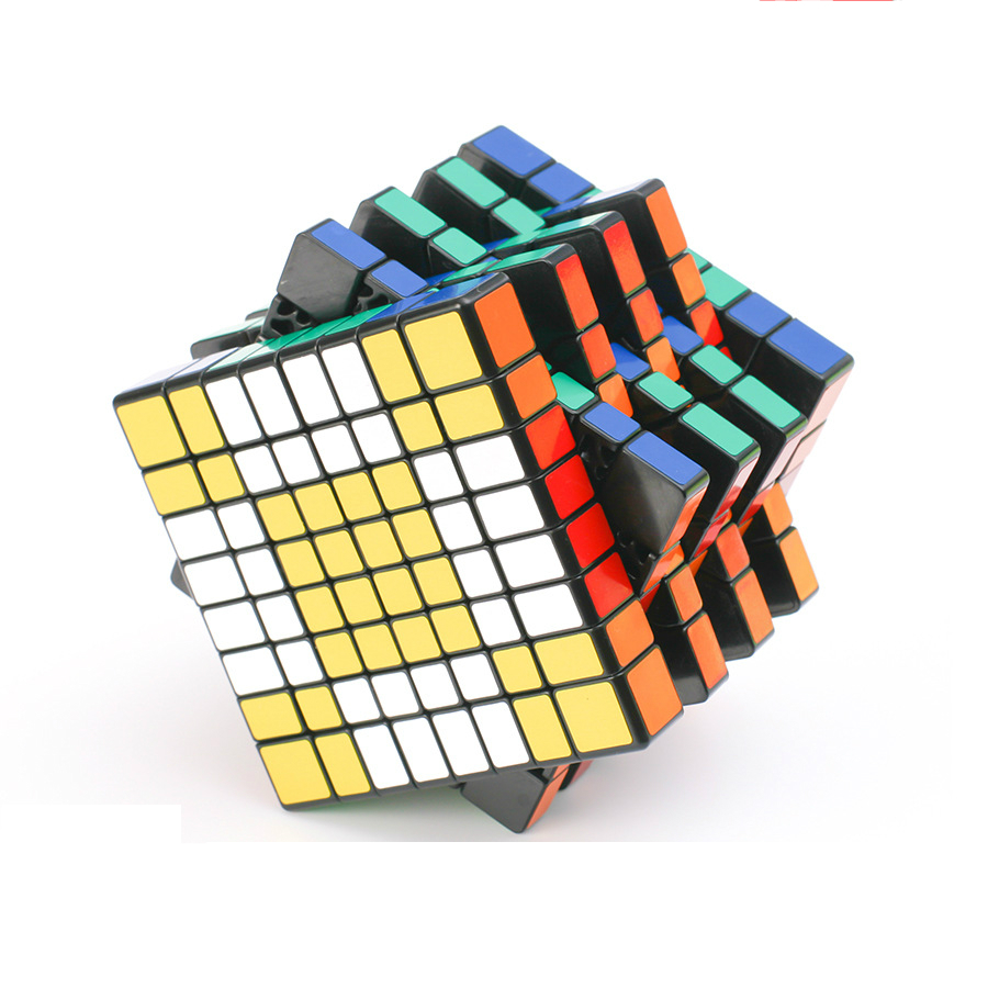 High Quality 8x8x8 Magic Cubes Professional Speed Puzzle Cube 8 Layers Educational Learning Magic Cubes Toy Cubo Magico dayan 6 axis 8 rank cube bagua magic cube speed puzzle game cubes educational toys for kids children