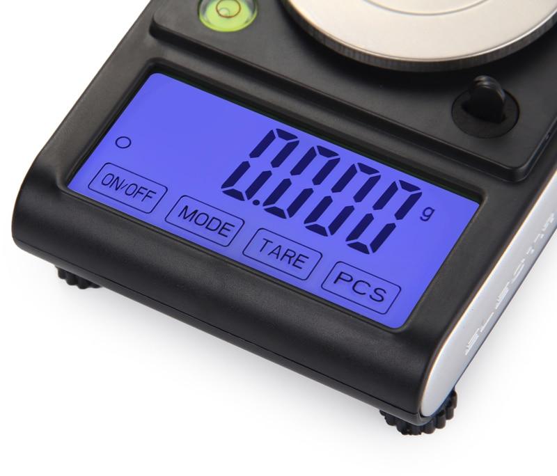 escala eletrônico grama contando 0.001