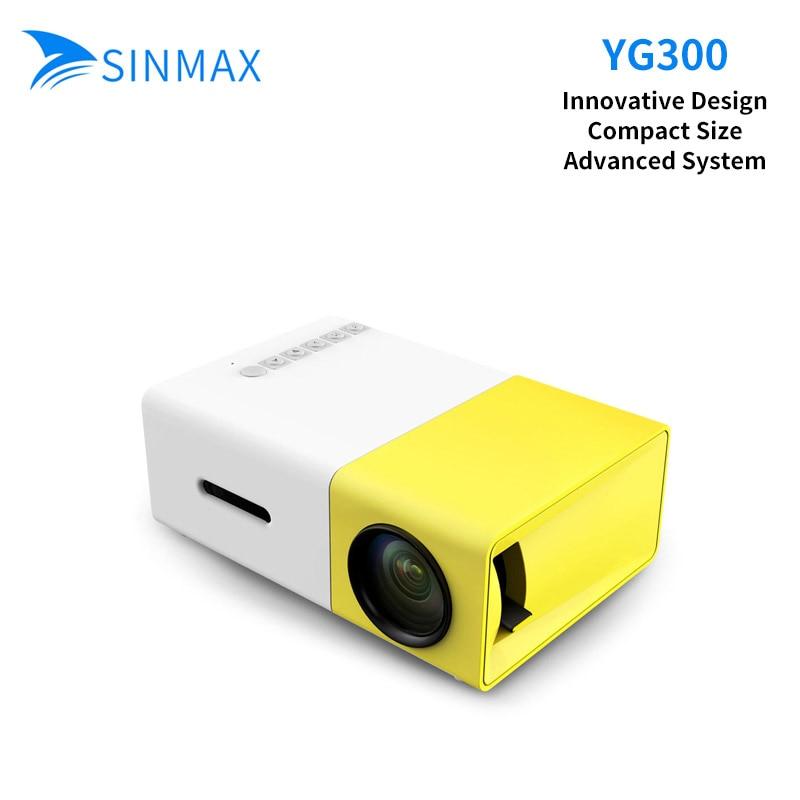 все цены на  YG-300 LED Portable Projector Xgimi H1 400-600LM Led TV Home Theater HDMI USB Mini Projector Home Media Player Mini Celular  онлайн