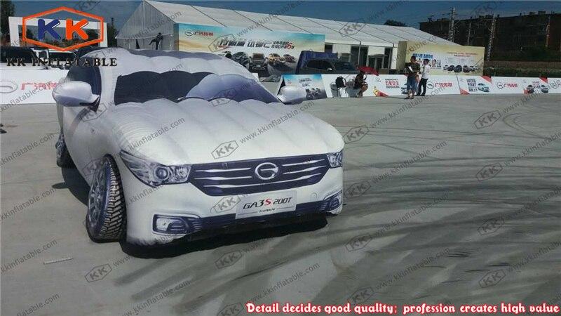 Ballon gonflable fait sur commande de voiture de modèle de voiture gonflable pour la publicité