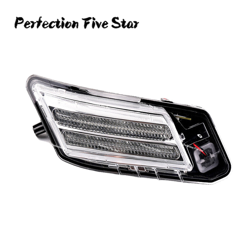 30784164 31290873 Front Left LED Marker Turn Signal Indicator Light Position Lamp For Volvo XC60 2009
