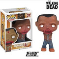 Pop FUNKO Genuine 10 cm the walking dead michonne PET 2 figura de acción Bobble Head Q edición nueva caja para la decoración del coche