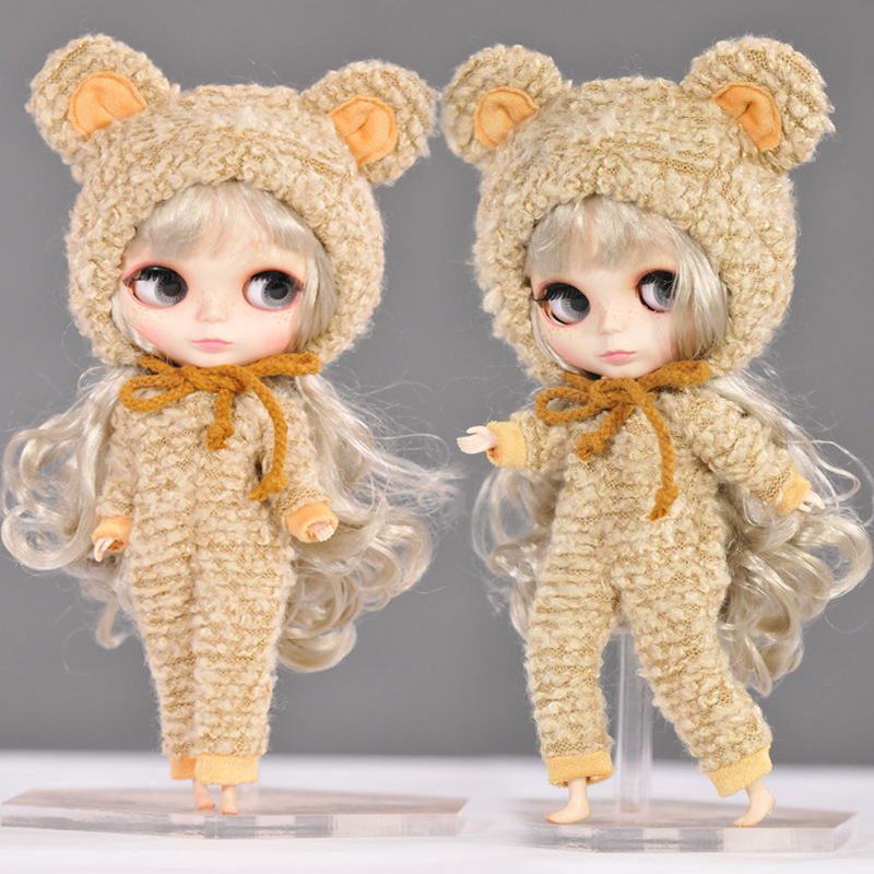 Doll Clothes For 1/6 Blyth bjd Accessories 12 Inch Suitable For Jointed Dolls Best Gift fashion sweater for bjd 1 3 1 4 uncle doll clothes accessories 4 colors