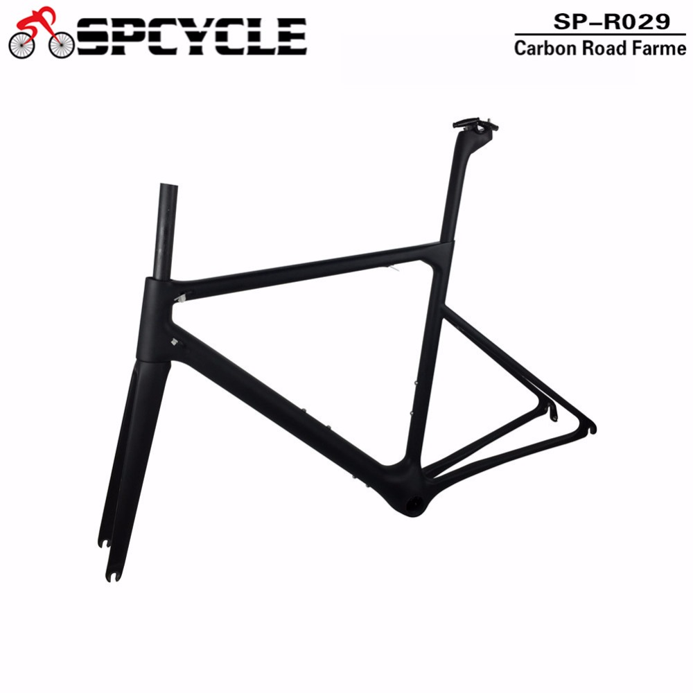 Spcycle T1100 Full Monocoque Road Bicycle Carbon Frames,Racing Bike Carbon Frames,UltraLight Cycling Carbon Road Framesets BB386