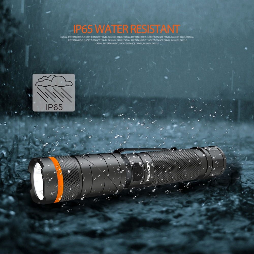 04 Rechargeable Flashlight