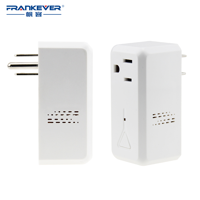 FRANKEVER Smart Plug US Standard AC110~240V Timing Smart Power Outlet Remote Control Wifi Plug Socket Alexa Googlehome FK-PW201U