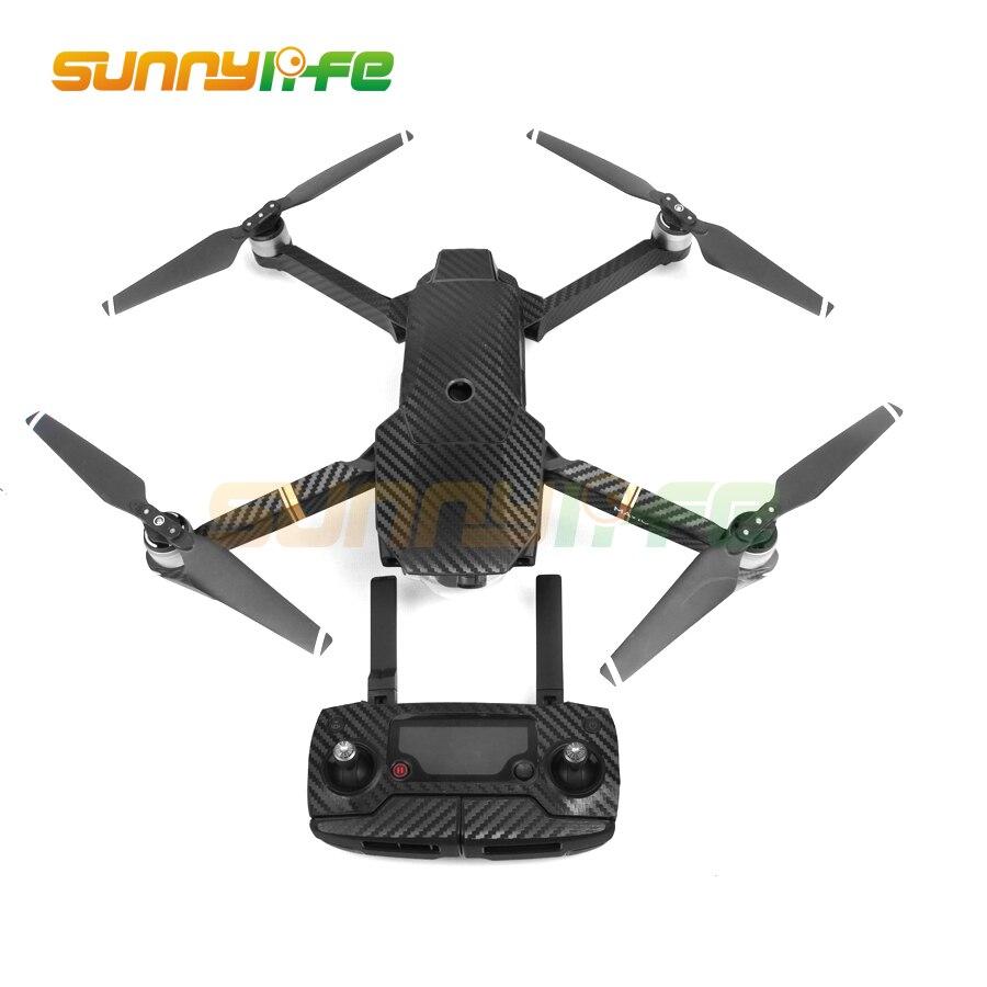 Vodootporni Carbon Grafički Naljepnice Skin Full Wrap Drone Tijelo + - Kamera i foto - Foto 2