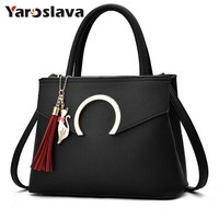 2018 Women Bag Luxury Famous Designer Brand Shoulder Bags Women Leather Handbags Women Messenger Bag Ladies