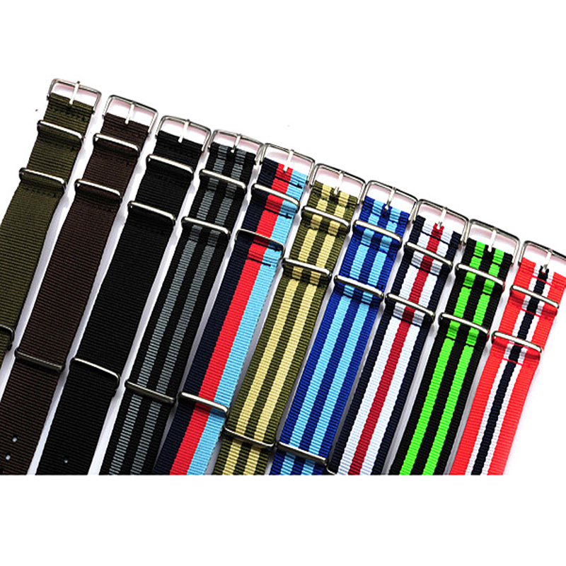 New Arrived wholesale 10pcs/lot 22MM nylon watchband waterproof Straps ,sport wrist NATO watch band Multi color for choose kids tracksuit boys clothing 4 13t children s sports suits hooded children clothing suit for boys teenage girls clothing fashion