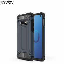 For Cover Samsung Galaxy S10 Lite Case Silicone & Hard Plastic Shell