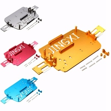 WLtoys A949 Chasis Inferior Del Coche de Actualización De Metal A959-B A969 A979 K929 1/18 RC Pieza Del Coche