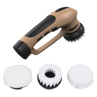 Multi Purpose Hand Held Electric Shoe Polisher Car Home Leather Care Portable Shoes Scrubber Brush Polisher