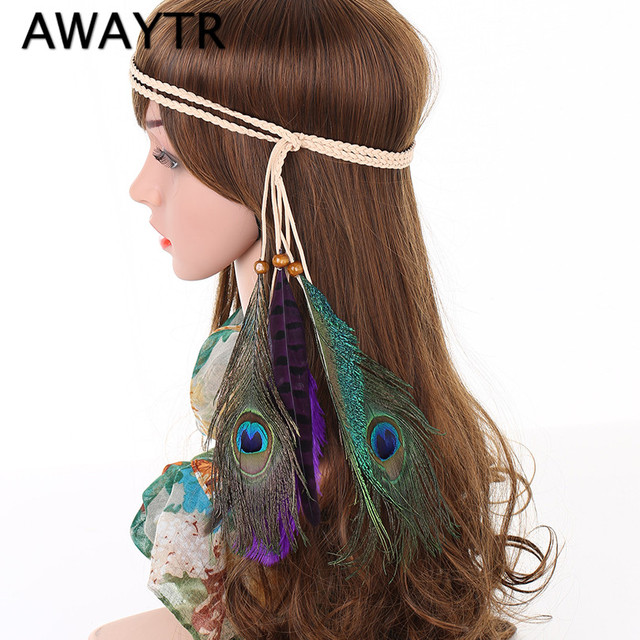 New Fashion Bohemian Feather Headband