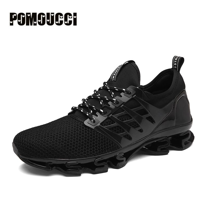New Brand Mens running Shoes Outdoor Sport Sneakers Damping Male Athletic Shoes zapatos de hombre Men jogging shoes Zapatillas apple brand men breathable air mesh running shoes weaving outdoor athletic zapatillas sport jogging sneakers walking shoes
