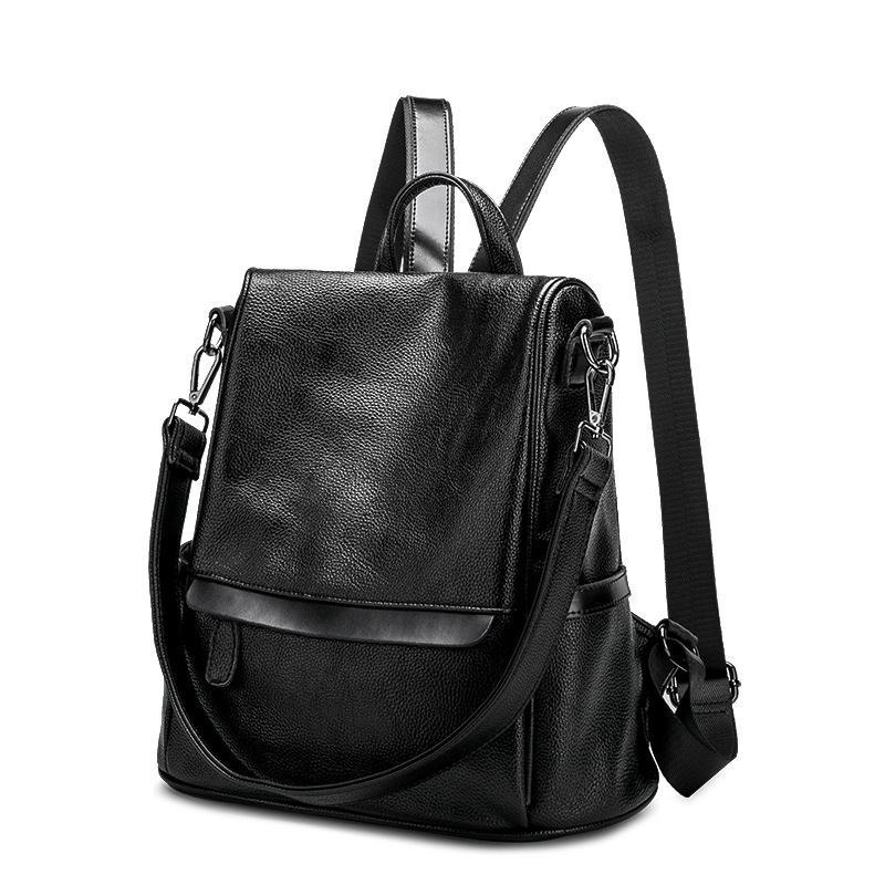 829123a4265b Новый корейский Для женщин женский рюкзак для отдыха студент школьная сумка  из мягкой натуральной кожи модные Винтаж женский рюкзак подрос.