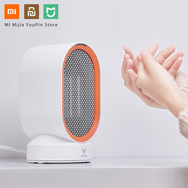 Xiaomi Mijia Yunmi Countertop Intelligent Anti-tip Switch Car Heater Cold And Warm Portable Heater Warmer