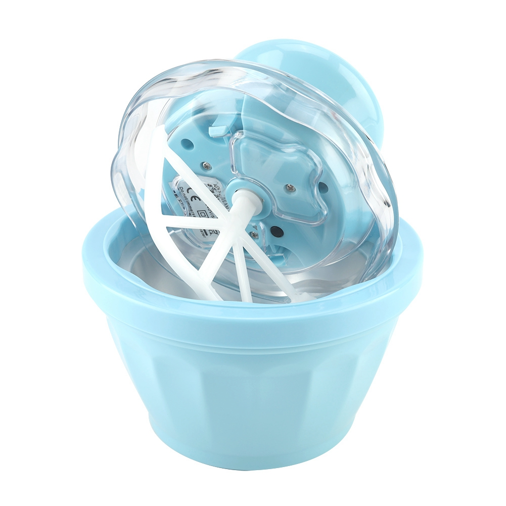 Portable and Automatic 220V Home Ice Cream Maker for Making Frozen Dessert and Ice Cream Quickly 11