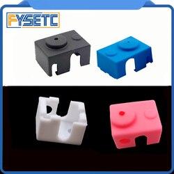 New V6 Silicone Sock 3D printer Support V6 PT100 Original J-head 1.75/3.0mm Heated Block Extruder Prusa i3 MK3