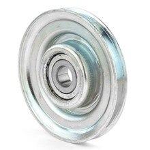 1 шт. 10*67*8,5 мм M8* 67* провод 8,5 канатное колесо/дверь лифта подвесное колесо паз U слот V канавка подъемное колесо, 6200 подшипник шкив