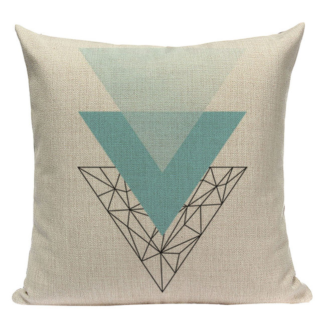 Nordic Pop Geometric Pillowcase Size: L313 Color: L313-13