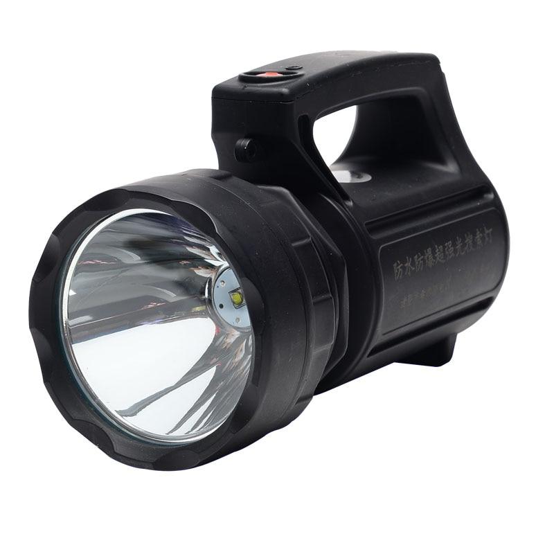 Nieuwste 20W LED draagbare Spotlight zaklamp Super Bright, ver naar 500 meter lang branden gratis verzending HS888-20