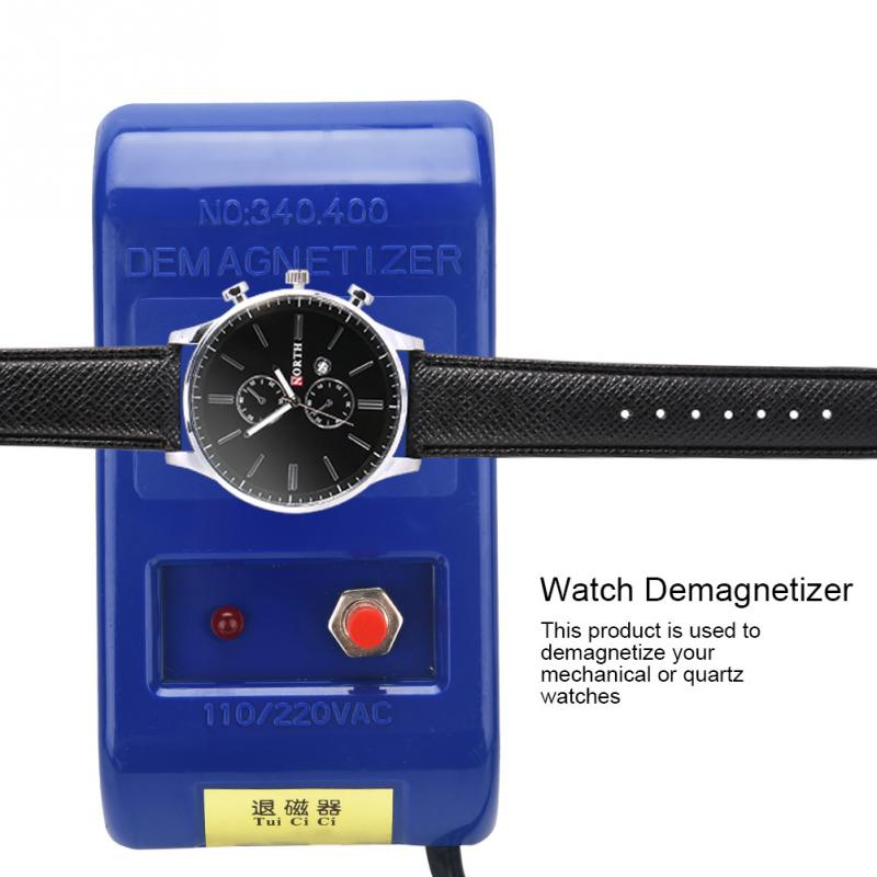 ZJCHAO Tweezers Screwdriver Watch Demagnetizer-Watch-Repair Professional for Eu-Plug
