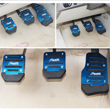 Aluminium Pedal Covers