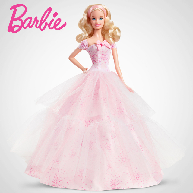 aliexpress com buy barbie doll collector s edition birthday wishes