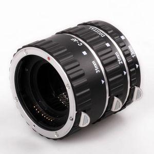 Image 2 - במלאי מתכת Tube הארכת מאקרו AF פוקוס אוטומטי TTL טבעת עדשת מתאם טבעת עבור Canon EOS EF EF S כל עדשות