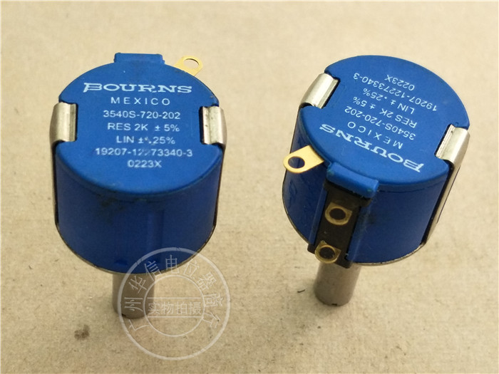 Original new 100% Mexico import 3540S-720-202 2K 10 laps multi ring potentiometer (SWITCH) кроссовки onitsuka tiger кроссовки mexico 66 knit