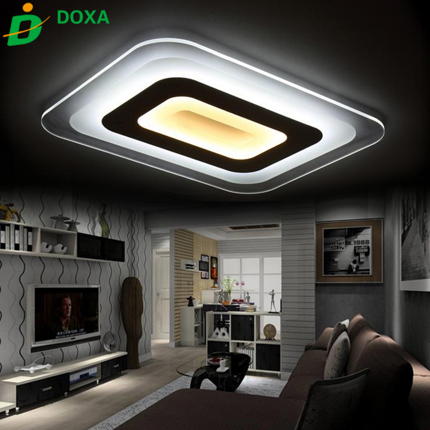 Buy Ultra Thin Modern Led Ceiling Light Living Room Lights Acrylic Decorative