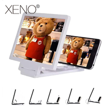 Mobile phone 3D screen magnifier 3d for smartphone stand