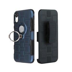 Image 4 - Cassa del telefono anti graffio montato caseTPU Copertura Coque Borsette con Cavalletto per Huawei P20 P30 Pro Lite Y6 Y7 Y9 nova 3 dirt resist