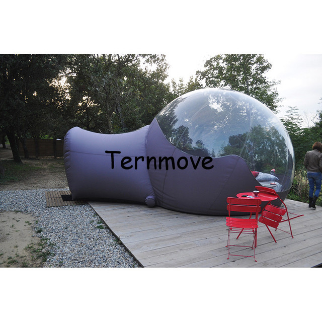 PVC Bubble Inflatable grey C&ing TentHot Large germany advertising half clear tentsinflatable  sc 1 st  AliExpress.com & PVC Bubble Inflatable grey Camping TentHot Large germany ...