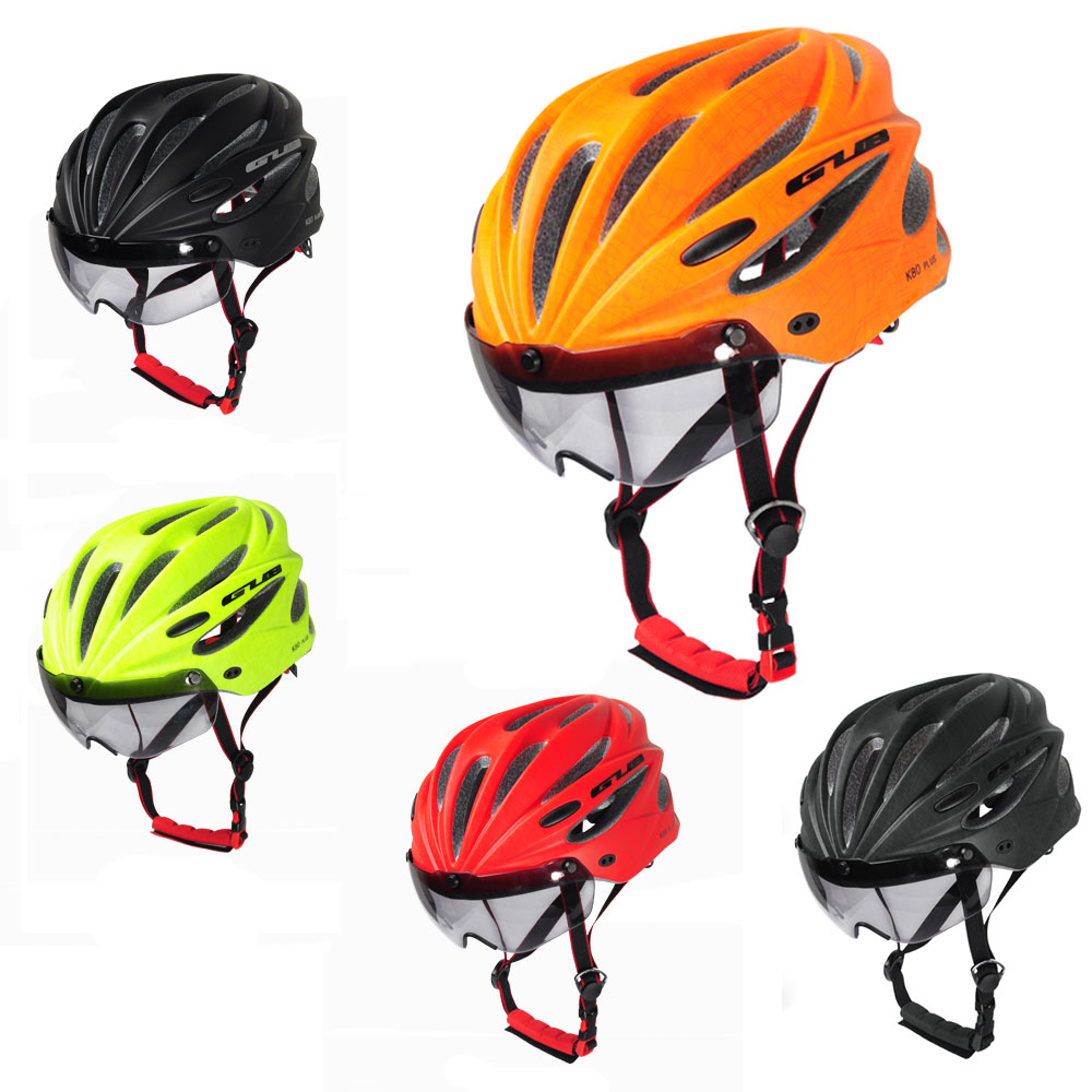 GUB Plus Cycling Bicycle Adult Safety Road Bike Helmet Head Protector With Visor