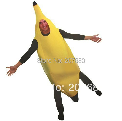 adult fancy dress funny banana costume suit novelty halloween carnival party decorations - Banana Costume Halloween