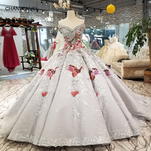 CHANVENUEL LS91289 luxury ball gown evening dress with